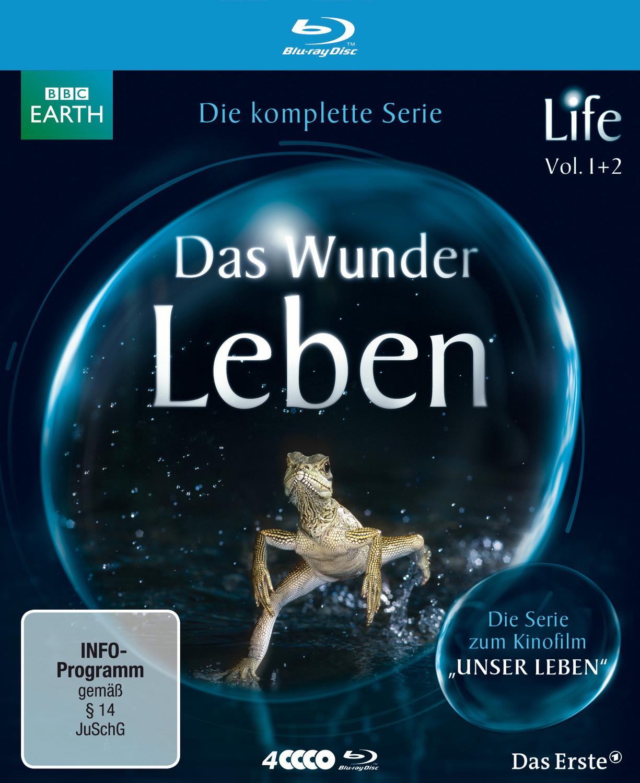 BBC: Life - Das Wunder Leben - Die komplette Serie [4 Blu-Rays]
