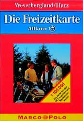 Die Freizeitkarte Allianz, Bl.11, Weserbergland...