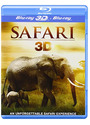 Safari 3D [3D Blu-ray + 2D Version, UK Import]