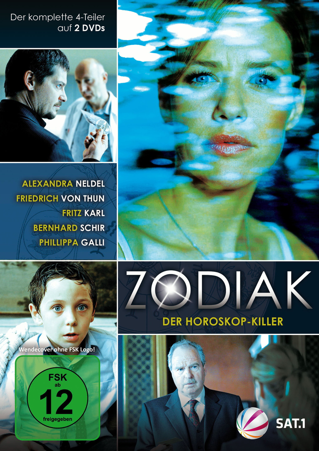 Zodiak - Der Horoskop-Killer [2 DVDs]