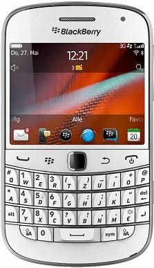 Blackberry 9900 Bold weiß