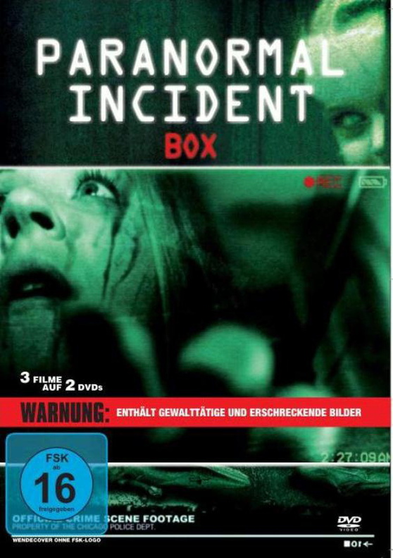 Paranormal Incident Box [2DVDs]