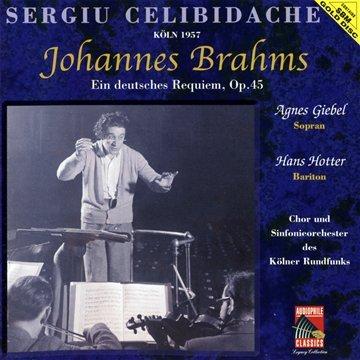 Sergiu Celibidache - Köln 1957/Ein Deutsches Requiem