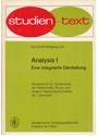 Analysis: Eine integrierte Darstellung, Teil 1 - Kurt Endl [Taschenbuch]