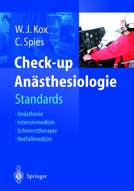 Check-up Anästhesiologie: Standards Anästhesie ...