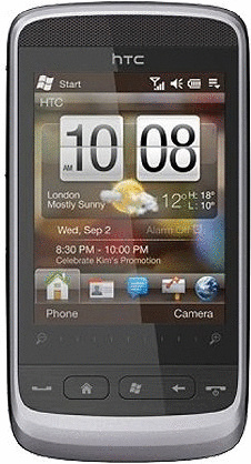 HTC Touch2 gloss silver