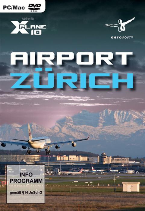 X-Plane 10: Airport Zürich [AddOn]