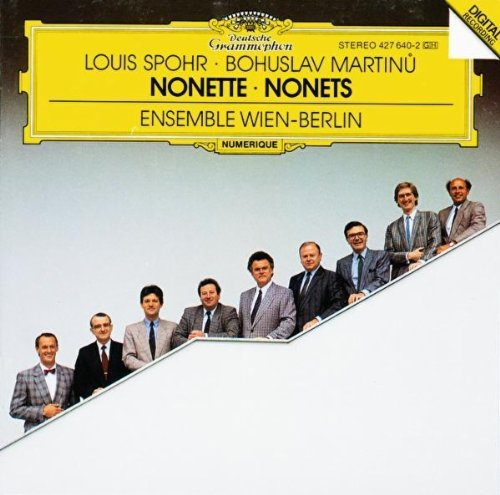 Wein-berlin Ensembl - Spohr/Martinu:Nonets
