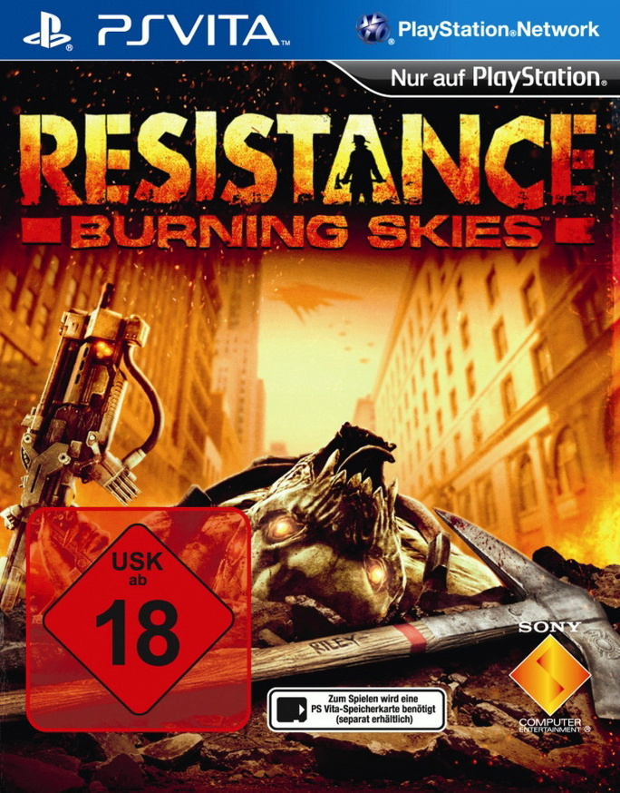 Resistance: Burning Skies [uncut]