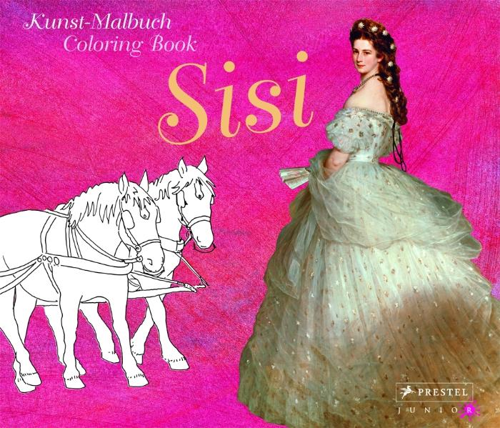 Kunst-Malbuch - Coloring Book Sisi - Annette Ro...