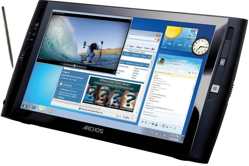 Archos 9 PCtablet SSD 9 32GB [Wi-Fi] schwarz