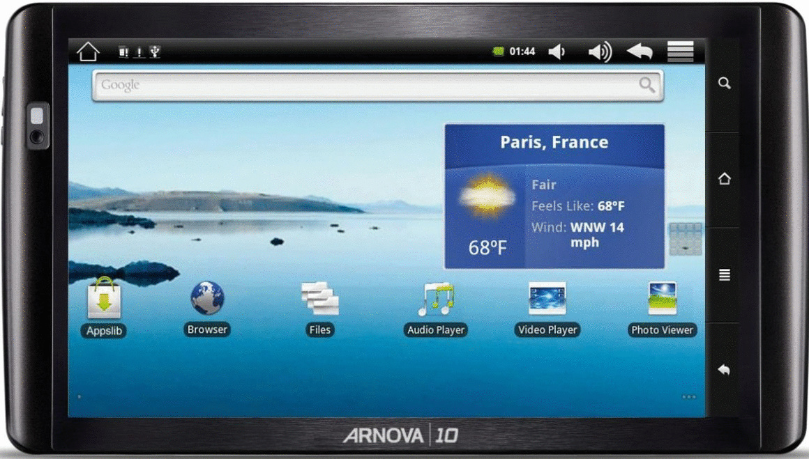 Archos Arnova 10b 10 8GB [Wi-Fi] schwarz