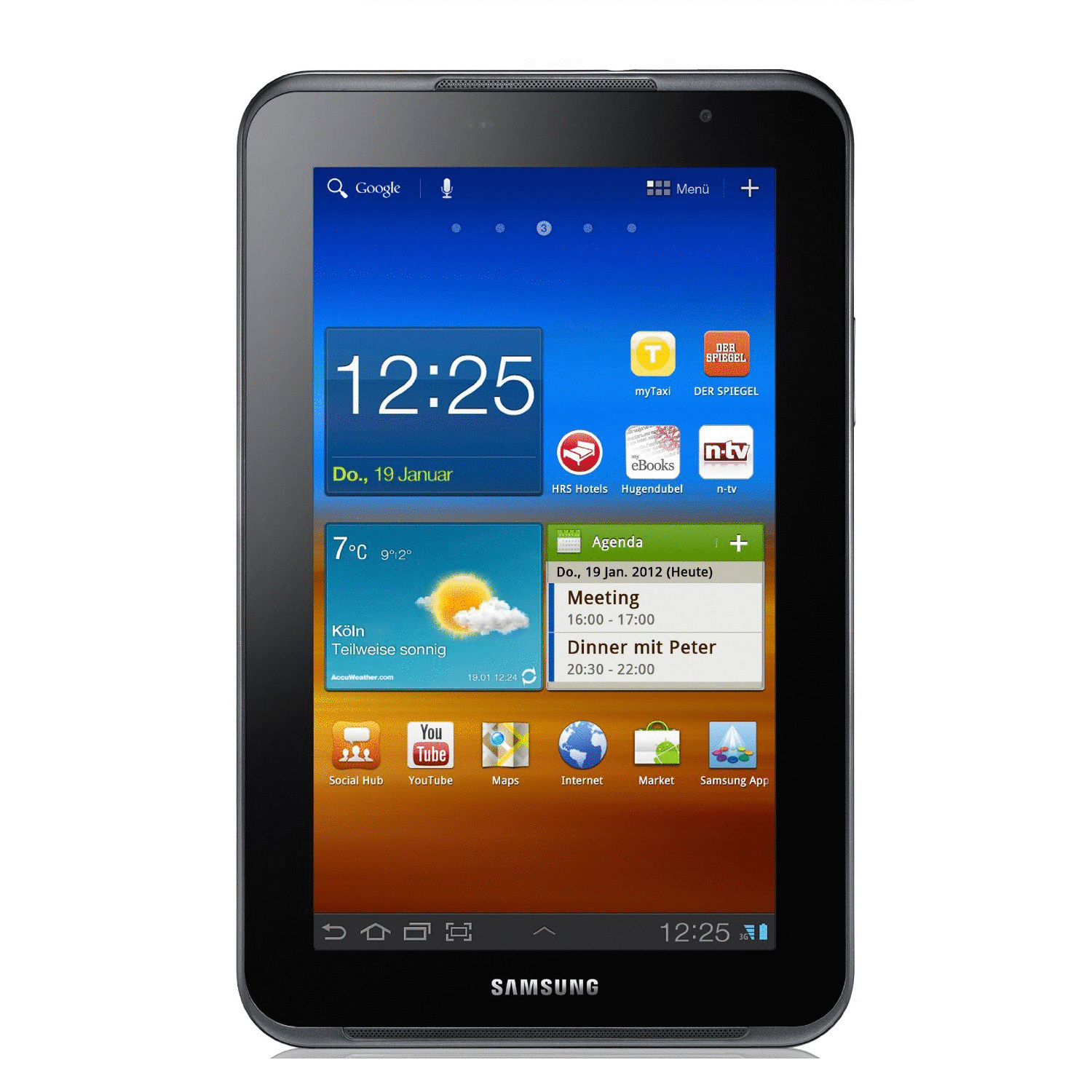 Samsung Galaxy Tab 7.0 Plus N 7 16GB [Wi-Fi] metallic gray
