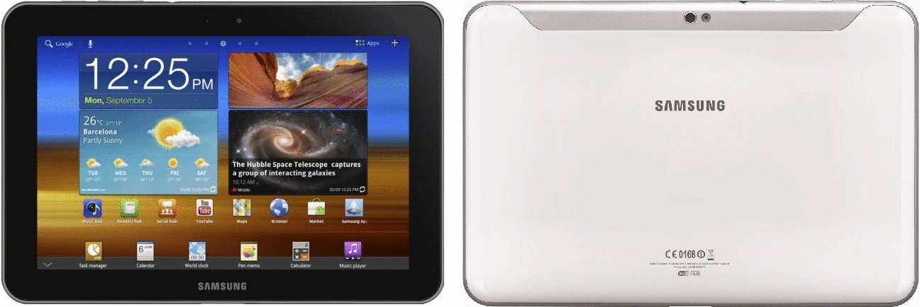 Samsung Galaxy Tab 8.9 8,9 16GB [Wifi] wit