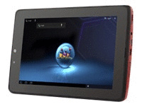 ViewSonic ViewPad 7x Wi-Fi schwarz rot