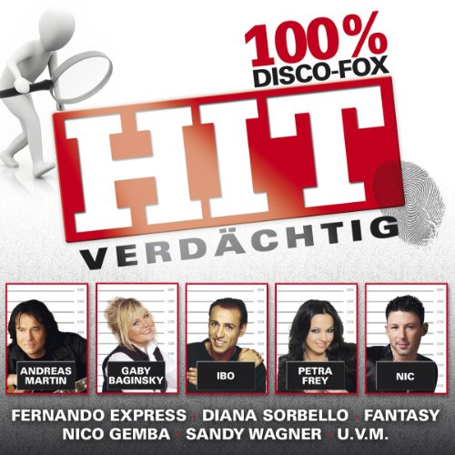 Various - Hit-Verdächtig 100% Disco-Fox