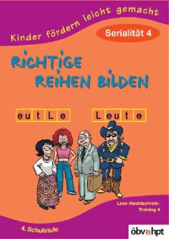Haider, Claudia : Richtige Reihen bilden, 4. Sc...