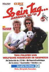 So ein Tag . . ., Jahrbuch 96/97, Alle Spielberichte des 1. FC Köln - Toni Polster