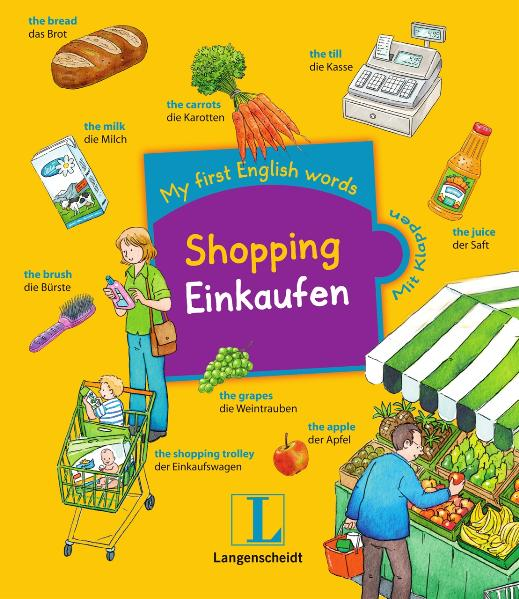 My first English words: Shopping - Einkaufen