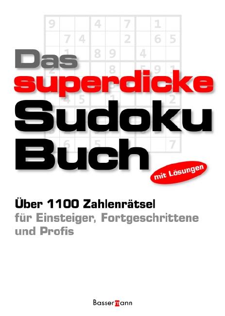 Das superdicke Sudoku-Buch