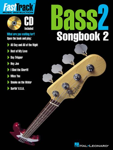 Fast Track Bass 2: Songbook 2 - Hal Leonard [Softcover, incl. CD]
