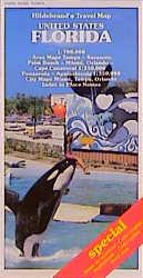Hildebrand´s Urlaubskarten; Hildebrand´s Travel Maps, United States, Florida: Area Maps Tampa - Sarasota, Palm Beach - Miami, Orlando - Canaveral 1 : ... Ortsregister. Straßenkarte (USA & Canada)