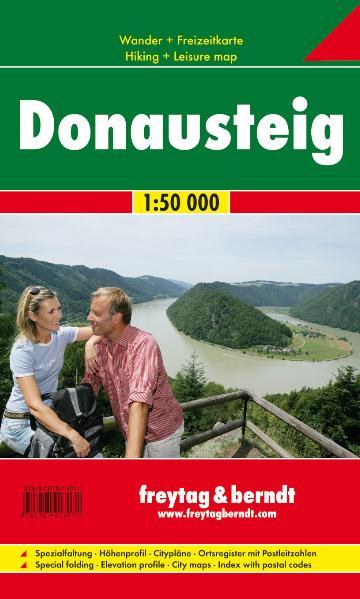 Freytag Berndt Wanderkarten, GPDST, Donausteig - Maßstab 1:50 000: Wander- und Freizeitkarte - Freytag-Berndt und Artaria KG