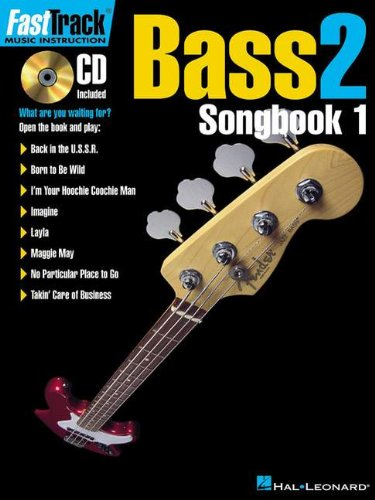 Fast Track Bass 2: Songbook 1 - Gary Meisner Blake [Softcover, incl. CD]