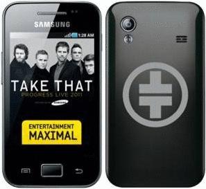 Samsung S5830 Galaxy Ace onyx black [Take That ...