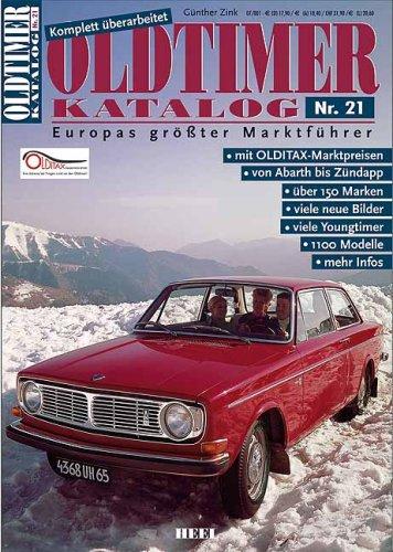 Oldtimer Katalog 21. Europas größter Marktführe...