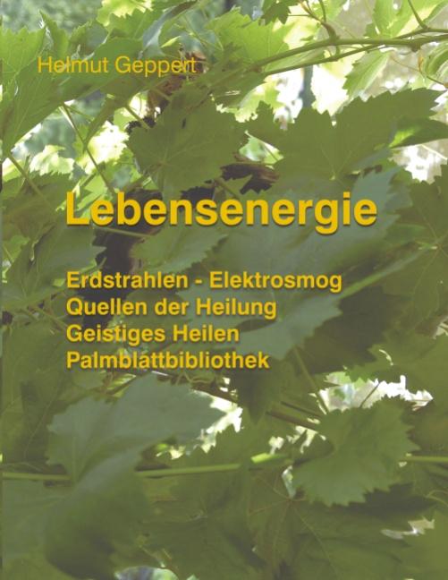 Lebensenergie: Erdstrahlen - Elektrosmog, Quell...