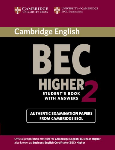 Cambridge BEC Higher 2 Student´s Book with Answ...