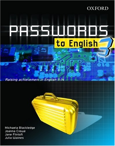 Passwords to English: Student´s Book Level 3 - ...