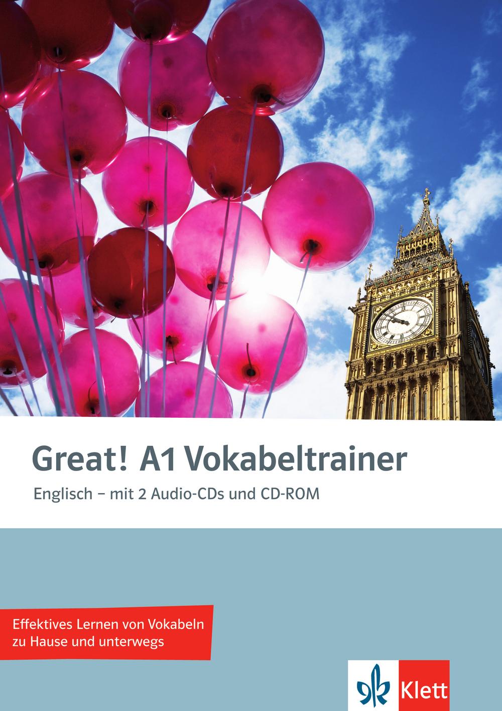 Great! A1 Vokabeltrainer mit 2 Audio-CDs und CD...