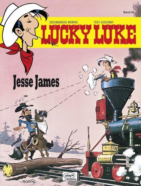 Lucky Luke: Band 38 - Jesse James - Morris & Goscinny [Gebundene Ausgabe]