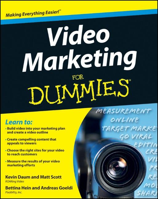 Video Marketing For Dummies (For Dummies (Compu...