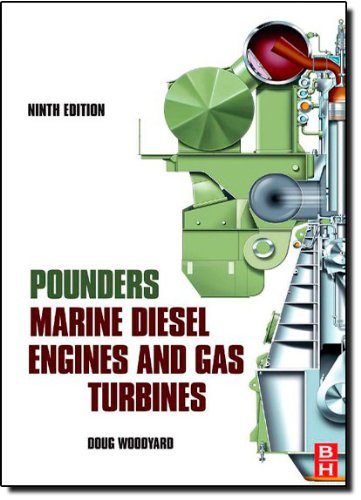Pounder´s Marine Diesel Engines and Gas Turbines - Doug Woodyard [Hardcover, 9th Edition 2009]