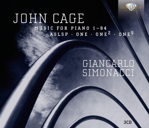 Giancarlo Simonacci - Cage: Piano Music Vol.4
