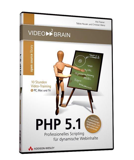 PHP 5.1 Videotraining (DVD-ROM)