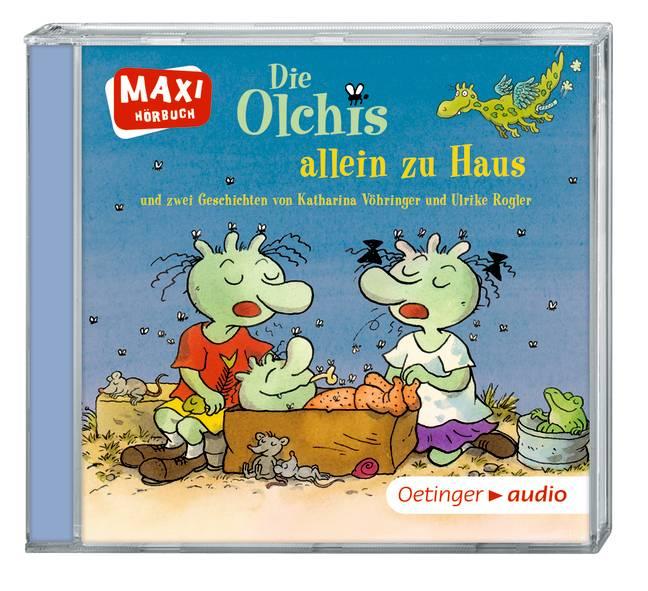 Die Olchis allein zu Haus (CD): Ungekürzte Lesu...