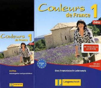 Couleurs de France Neu 1. Set aus Buch, Audio-C...