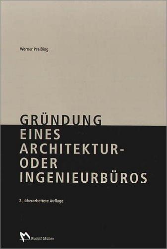 Gründung eines Architektur- oder Ingenieurbüros...