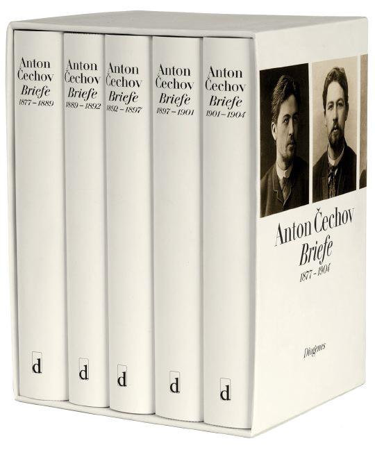 Briefe 1877-1904 - Anton Cechov [5 Bände, Gebundene Ausgabe]