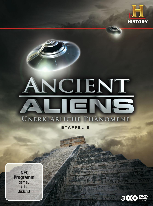 Ancient Aliens - Unerklärliche Phänomene - Staffel 2 [3 DVDs]