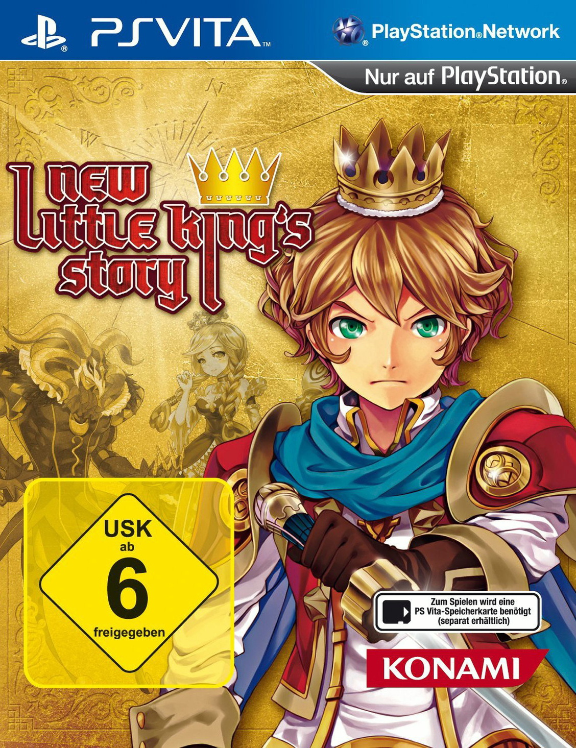 New Little King´s Story