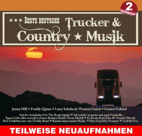 Various - Beste Deutsche Trucker & Country Musik