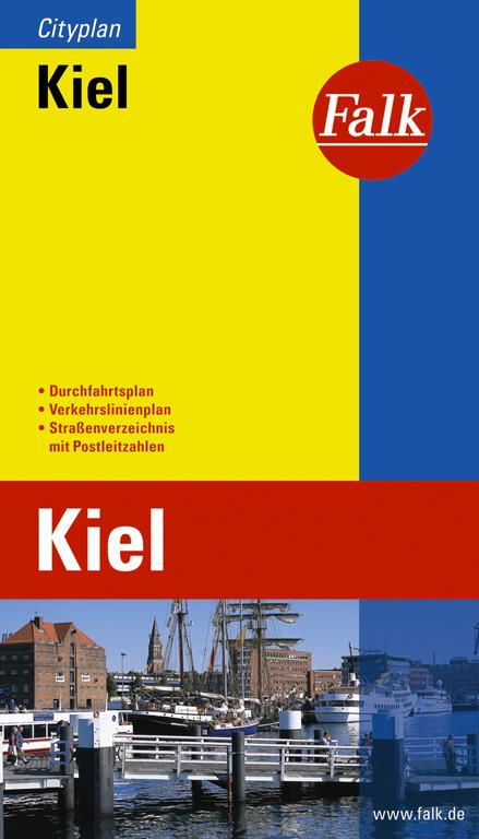 Falk Cityplan Kiel - Falk Verlag