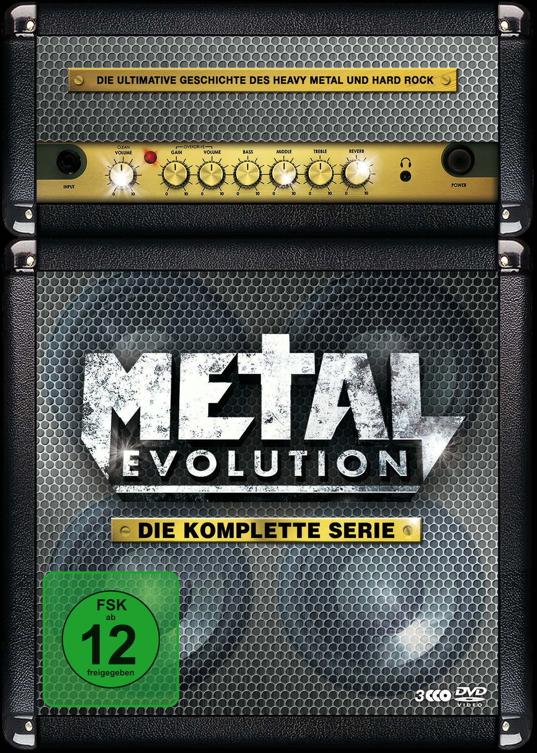 Metal Evolution - Die komplette Serie [Steelbook, 3 DVDs]