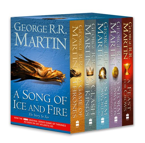 A Song of Ice and Fire: Book 1-4 - George R. R. Martin [4 Books; Paperback]