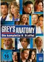 Grey's Anatomy - Staffel 8 [6 DVDs]
